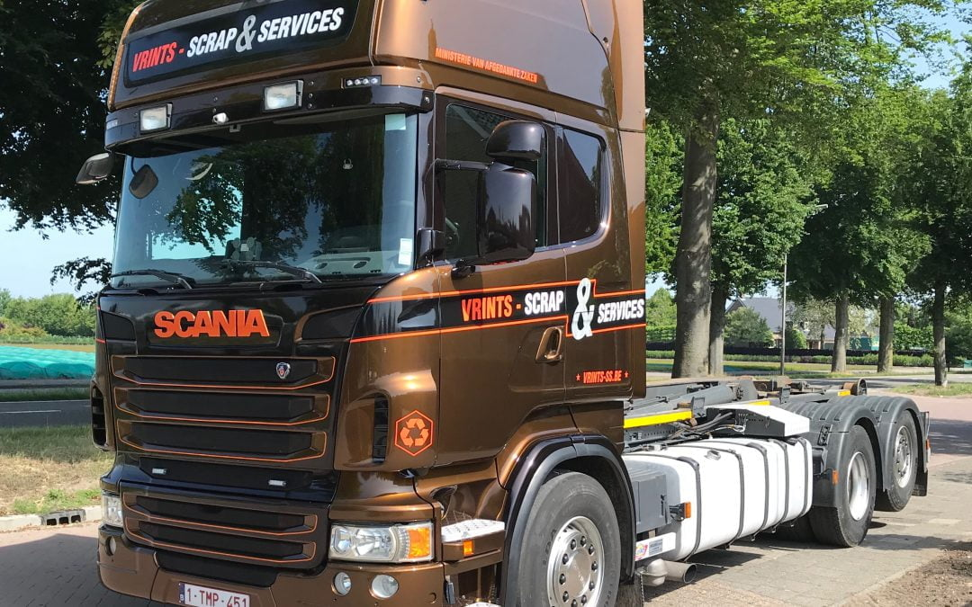 Scania R480 Vrints Scrap & Services